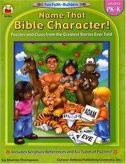 Name That Bible Character! PDF
