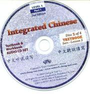 Integrated Chinese by Tao-Chung Yao