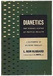 Cover of: Dianetics by L. Ron Hubbard