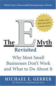 The E-myth revisited PDF