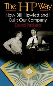 The HP Way by David Packard