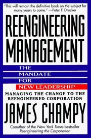 Reengineering management by James Champy
