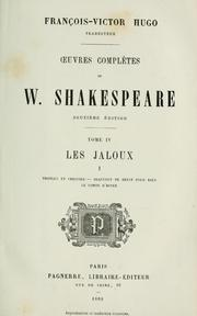 Cover of: Œuvres completes by William Shakespeare