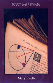 Post Meridian (Poetry Ser) PDF