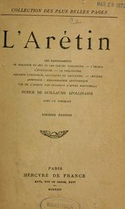 Cover of: L'Arétin by Pietro Aretino