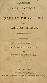 Mackintosh's collection of Gaelic proverbs, and familar phrases PDF
