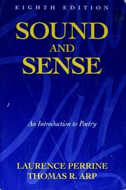 Sound and sense PDF