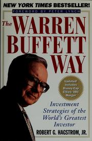 The Warren Buffet way by Robert G. Hagstrom
