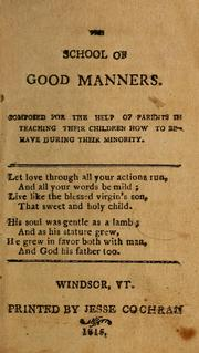 The School of good manners PDF