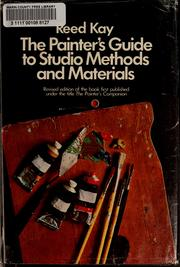 The painter's guide to studio methods and materials PDF