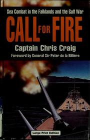 Cover of: Call for fire by Craig, Chris Captain