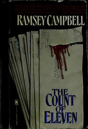 Cover of: The Count of eleven by Ramsey Campbell