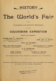 History of the World's fair PDF