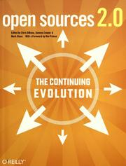 Open Sources 2.0 by Chris DiBona, Mark Stone, Danese Cooper