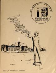 Very large data bases, Stockholm 1985 PDF