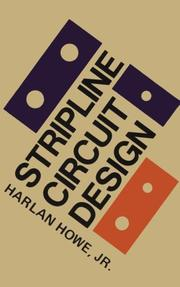 Stripline circuit design by Harlan H. Howe