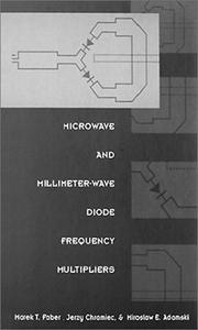 Microwave and millimeter-wave diode frequency multipliers PDF