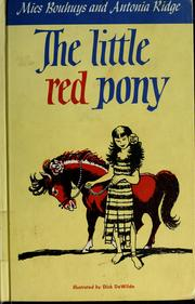 Cover of: The little red pony by Mies Bouhuys