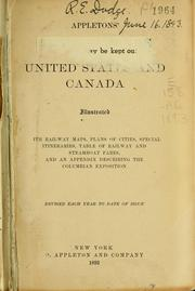 Cover of: Appleton's general guide to the United States and Canada by
