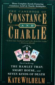 Cover of: The casebook of Constance and Charlie by Kate Wilhelm