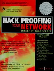 Hack proofing your network by Ryan Russell