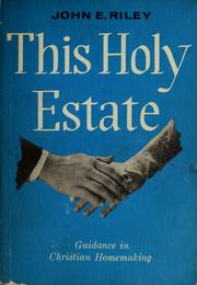 This holy estate PDF