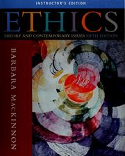 Cover of: Ethics | Barbara MacKinnon
