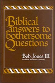Biblical Answers to Bothersome Questions PDF