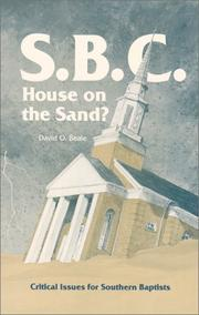 S.B.C., house on the sand? by David Beale