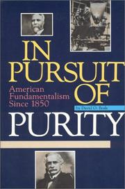 In pursuit of purity by David Beale