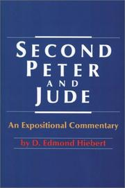 Second Peter and Jude by D. Edmond Hiebert