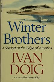 Winter brothers by Ivan Doig