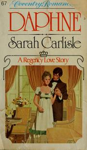 Cover of: Daphne by Sarah Carlisle