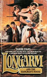 Cover of: Longarm and the hangman's noose by Tabor Evans