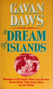 A dream of islands by Gavan Daws