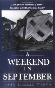 A weekend in September by John Edward Weems