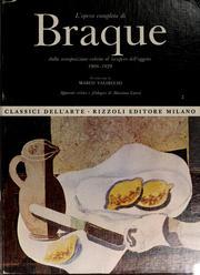 L'opera completa di Braque PDF