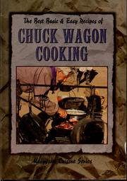 The best basic & easy recipes of chuck wagon cooking PDF