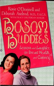 Cover of: Bosom buddies by Rosie O'Donnell
