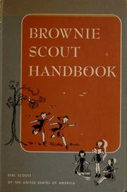 Cover of: Brownie Scout handbook by Girl Scouts of the United States of America.