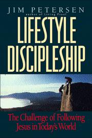Lifestyle discipleship by Jim Petersen