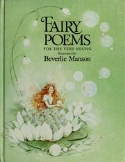 Fairy poems for the very young PDF