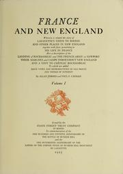 France and New England by Allan Forbes