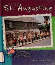 Cover of: Historic St. Augustine by Sandra Steen