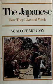 The Japanese by W. Scott Morton
