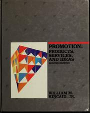 Promotion--products, services, and ideas PDF