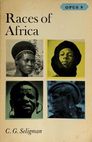 Races of Africa PDF