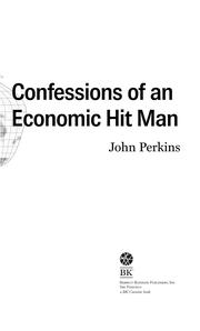 Cover of: Confessions of an Economic Hitman by John Perkins