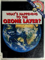 Cover of: What's happening to the ozone layer? by Isaac Asimov