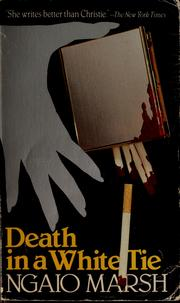Cover of: Death in a white tie by Ngaio Marsh